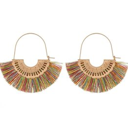 Fringe Tassel Drop Earrings