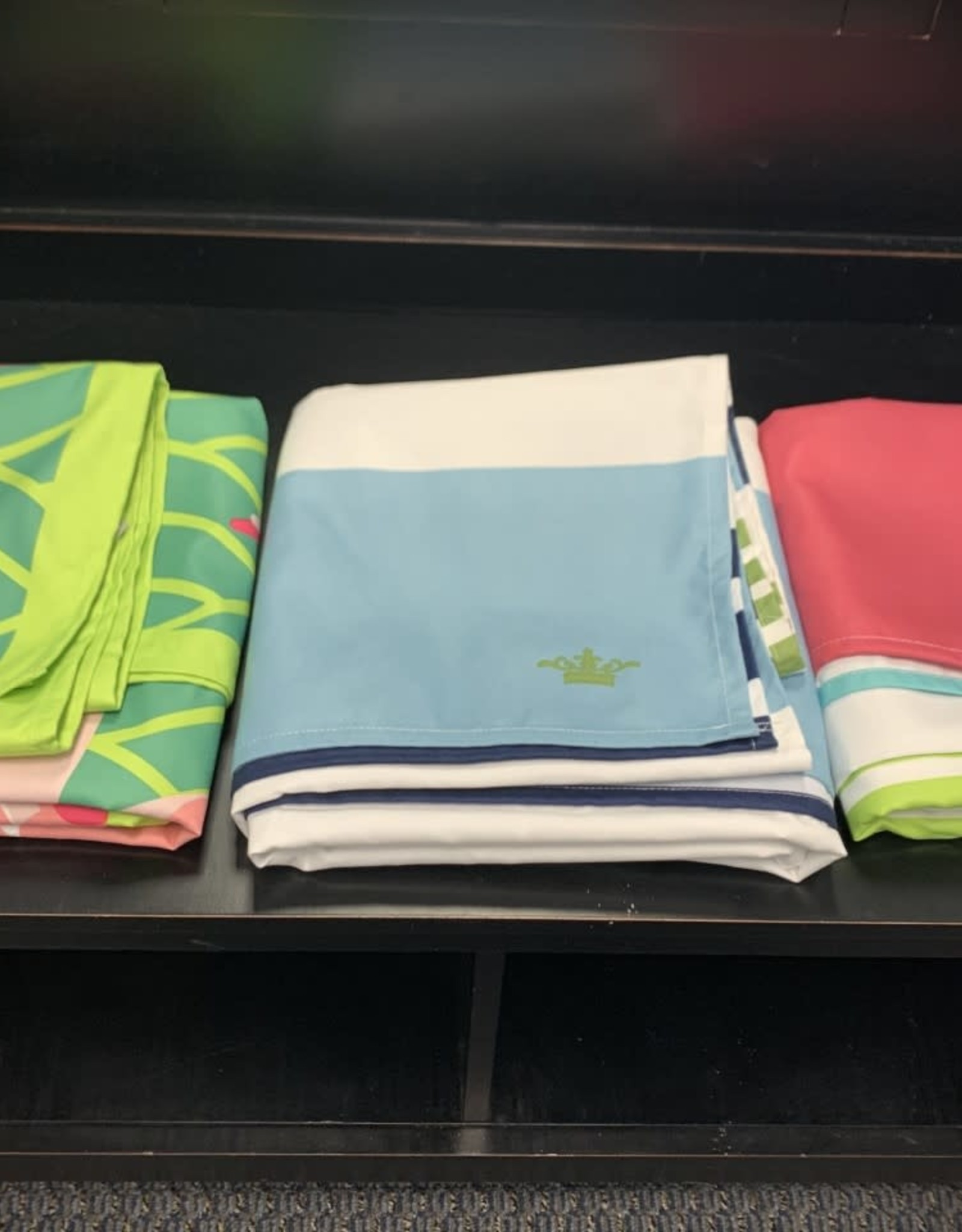 Microfiber Beach Towel - Paradise Pinks Stripe Giant
