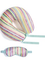 Neck Pillow & Eye Mask Travel Set
