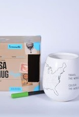 USA Travel Mug with Pen