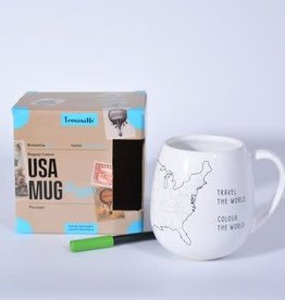 Trouvaille USA Travel Mug