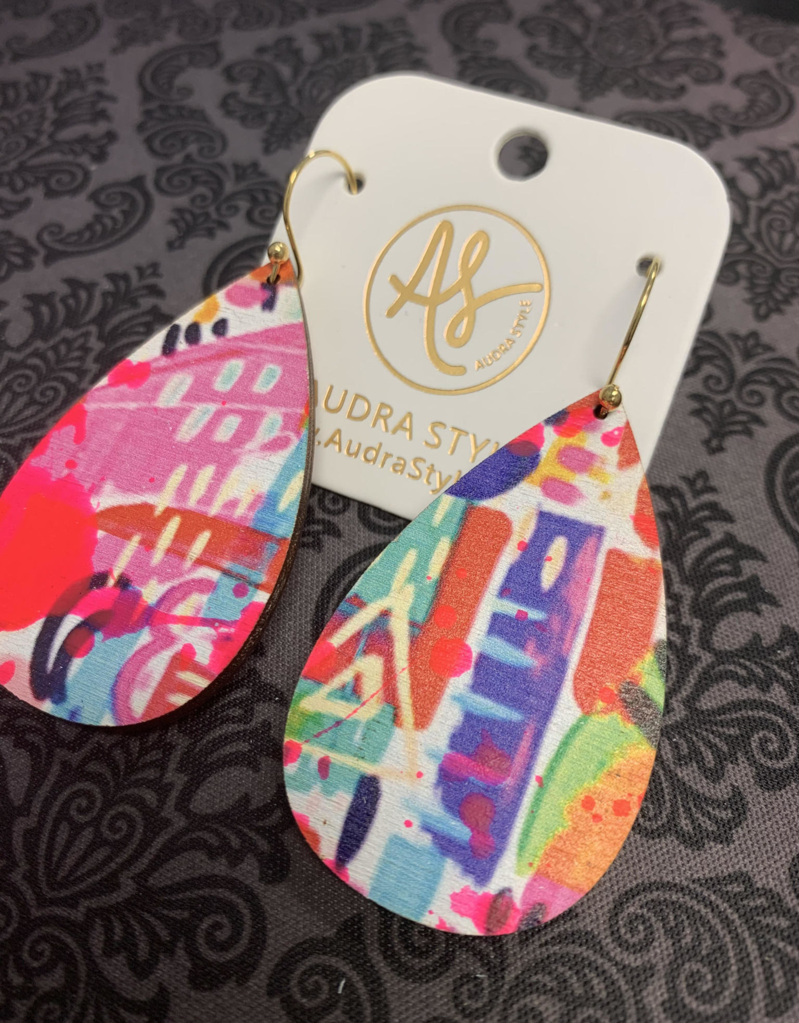 Audra Style Retro Earrings