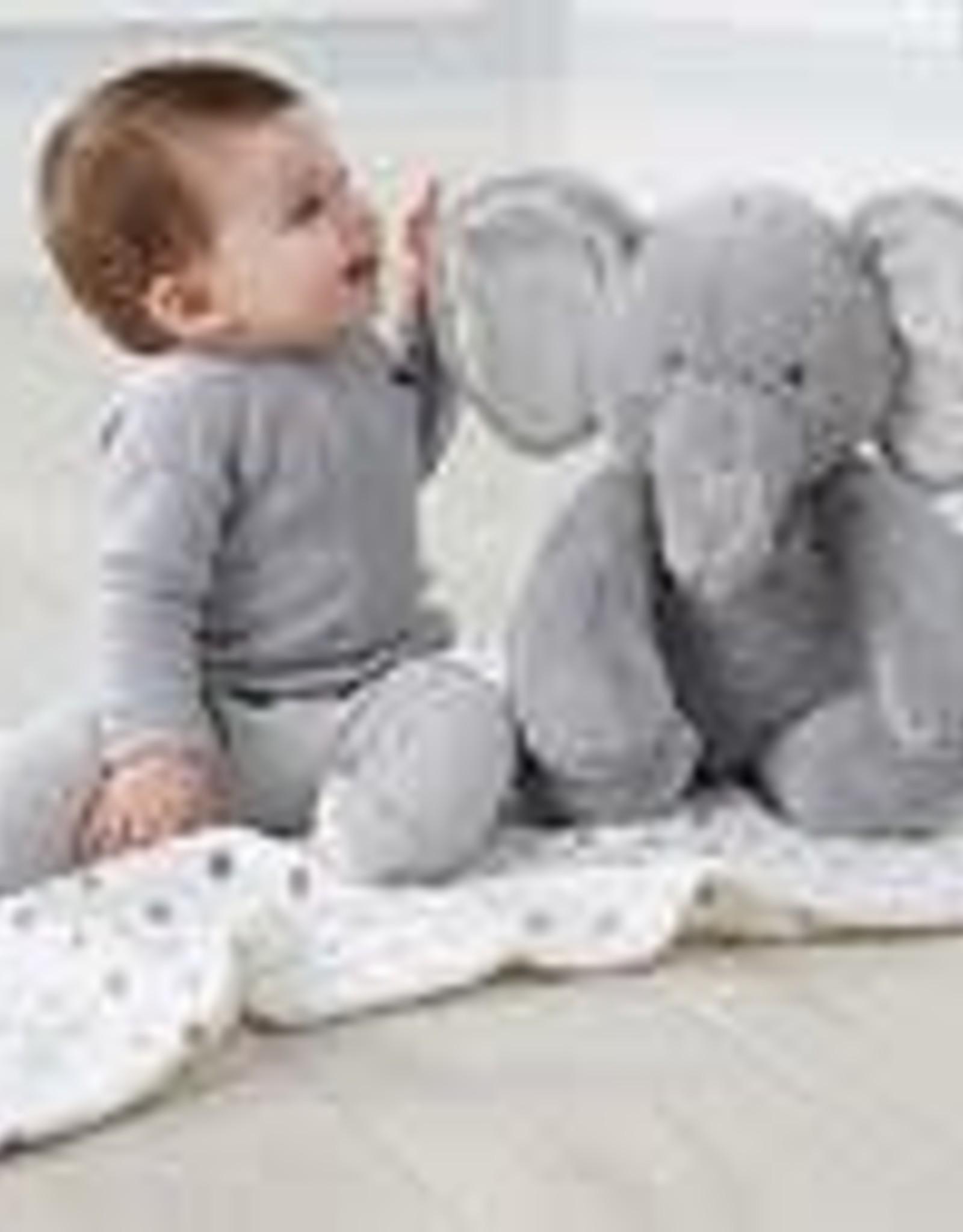 Plush Elephant with Blanket