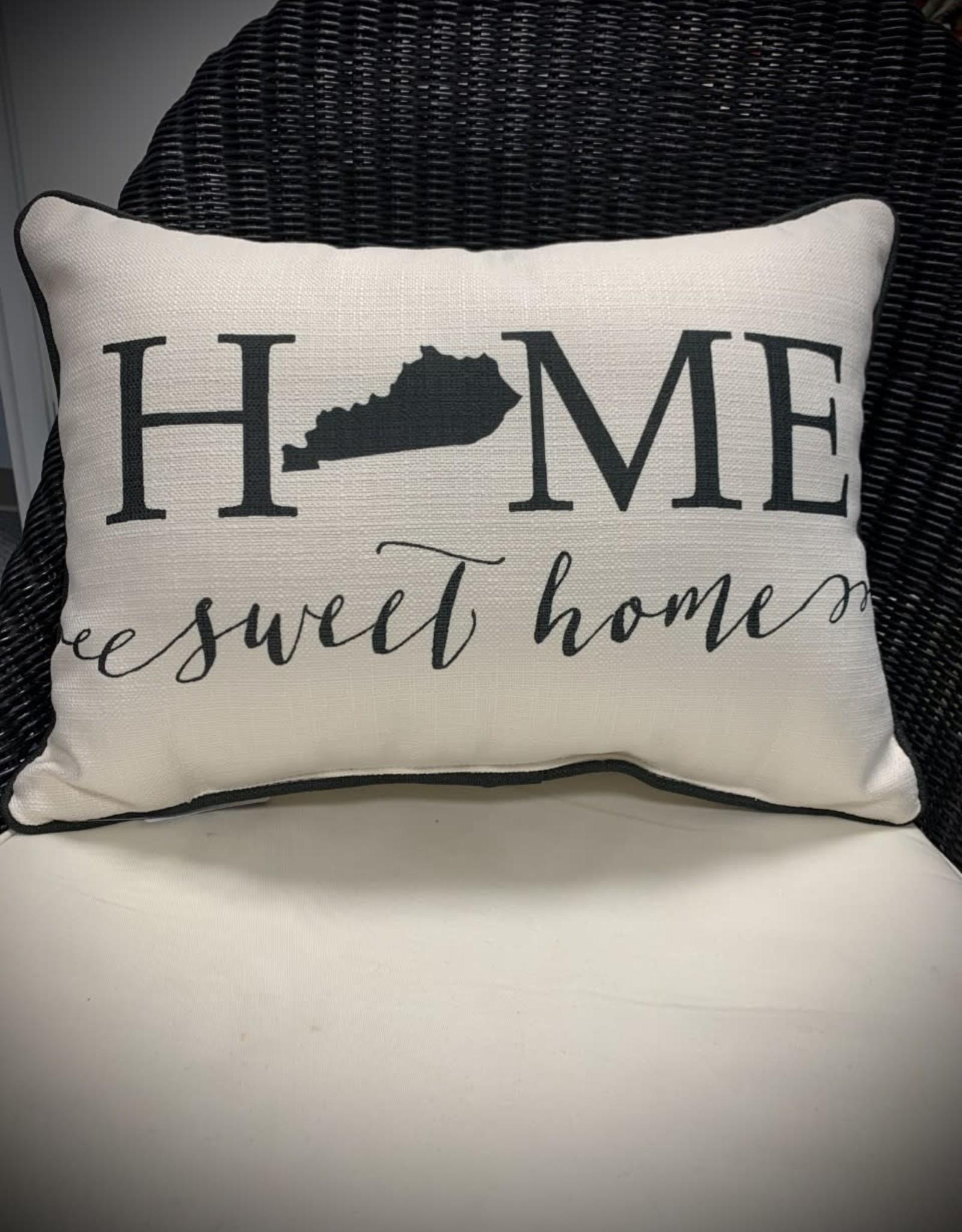 Home Sweet Home Pillow - Kentucky