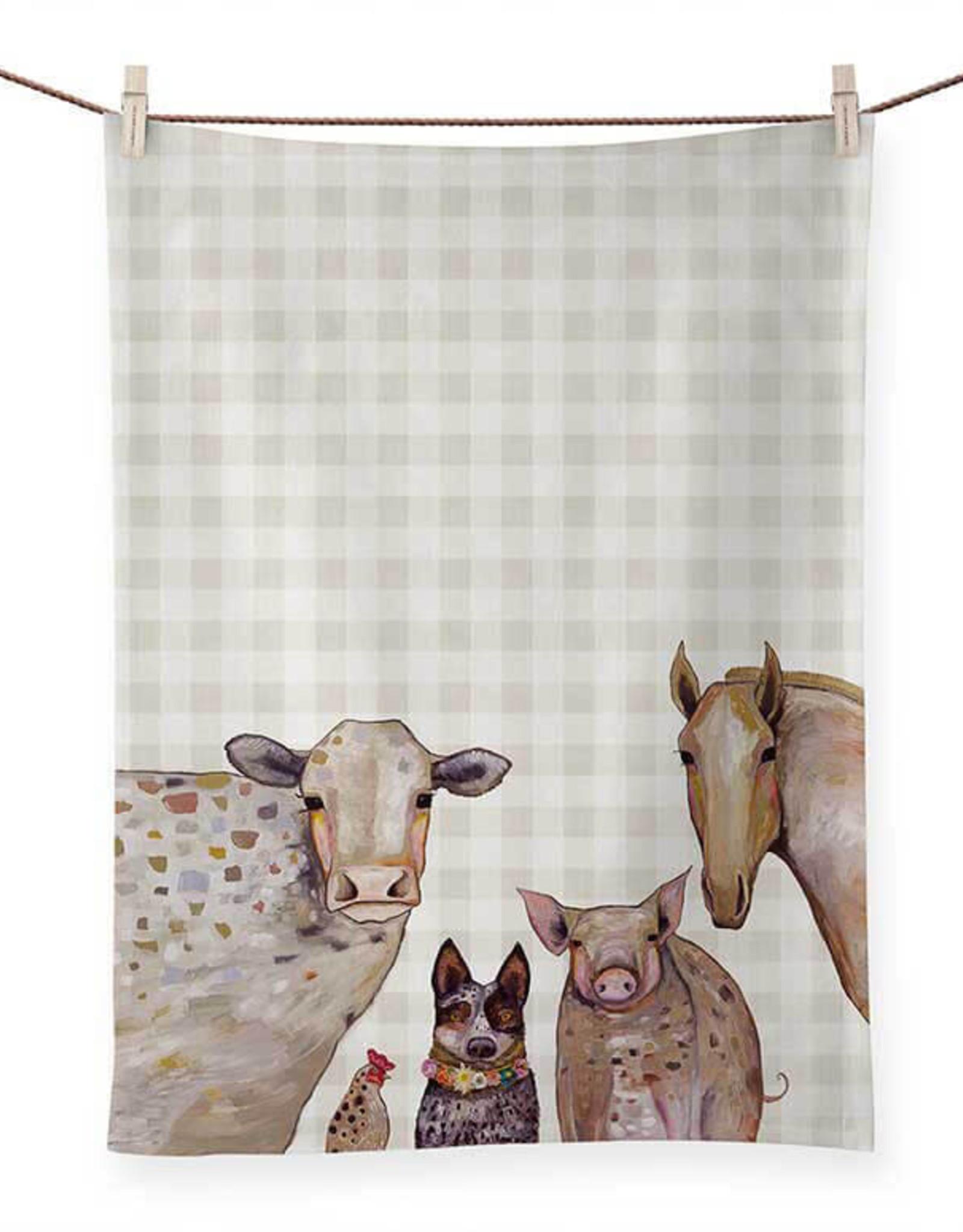 Tea Towel - Cattle Crew