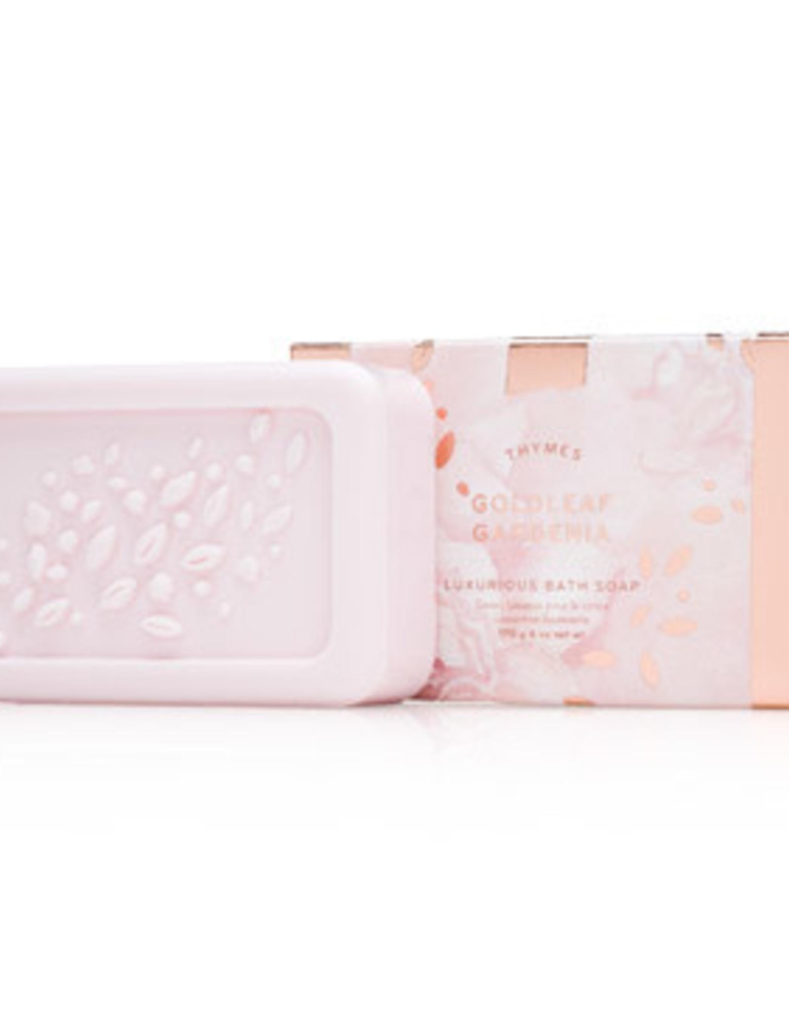 Thymes Bath Soap - Goldleaf Gardenia