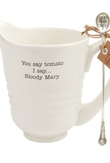 Mudpie Bloody Mary Pitcher Set