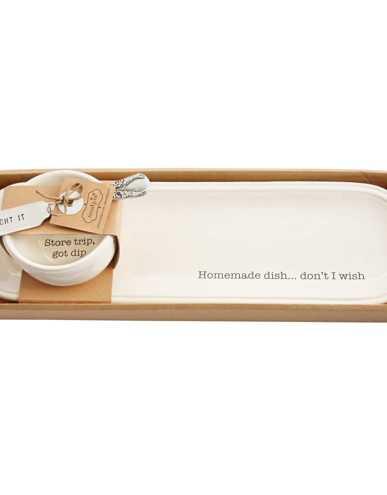 Mudpie Not Homemade Serving Tray Set