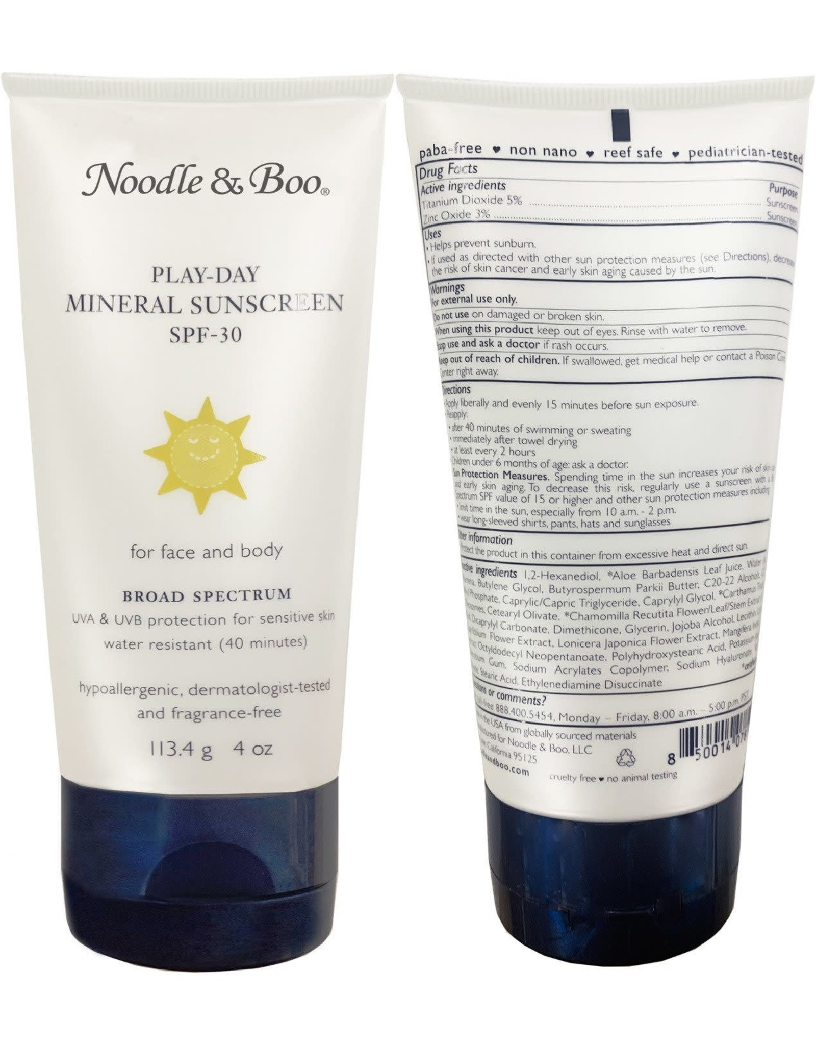 Noodle & Boo Play - Day Mineral Sunscreen