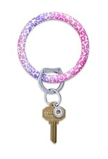 O Key Ring - Pink Cheetah
