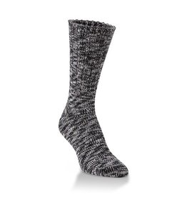 Crescent Sock Co World's Softest Socks - Ribbed Black