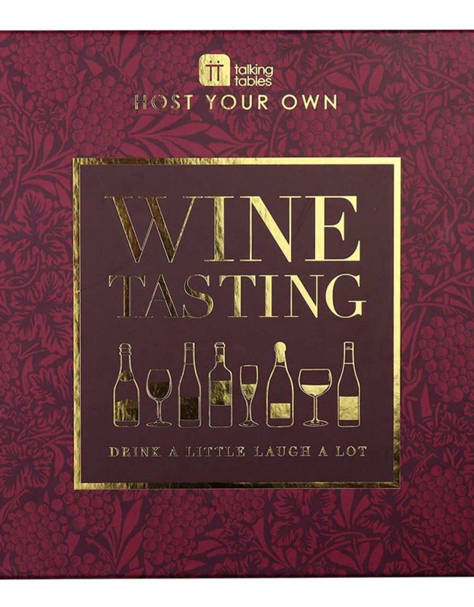 Wine Tasting Board Game
