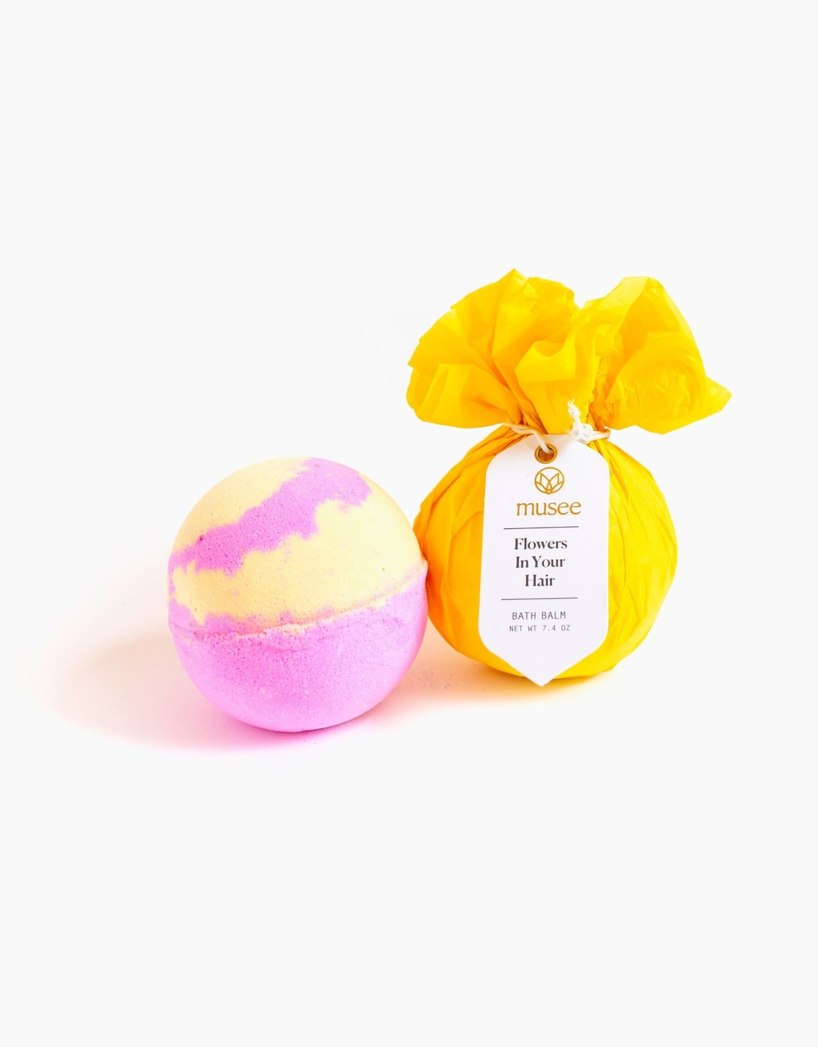 Musee Bath Bomb - Flowers in Your Hair