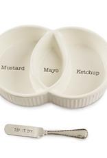 Mudpie Condiment Serving Dish