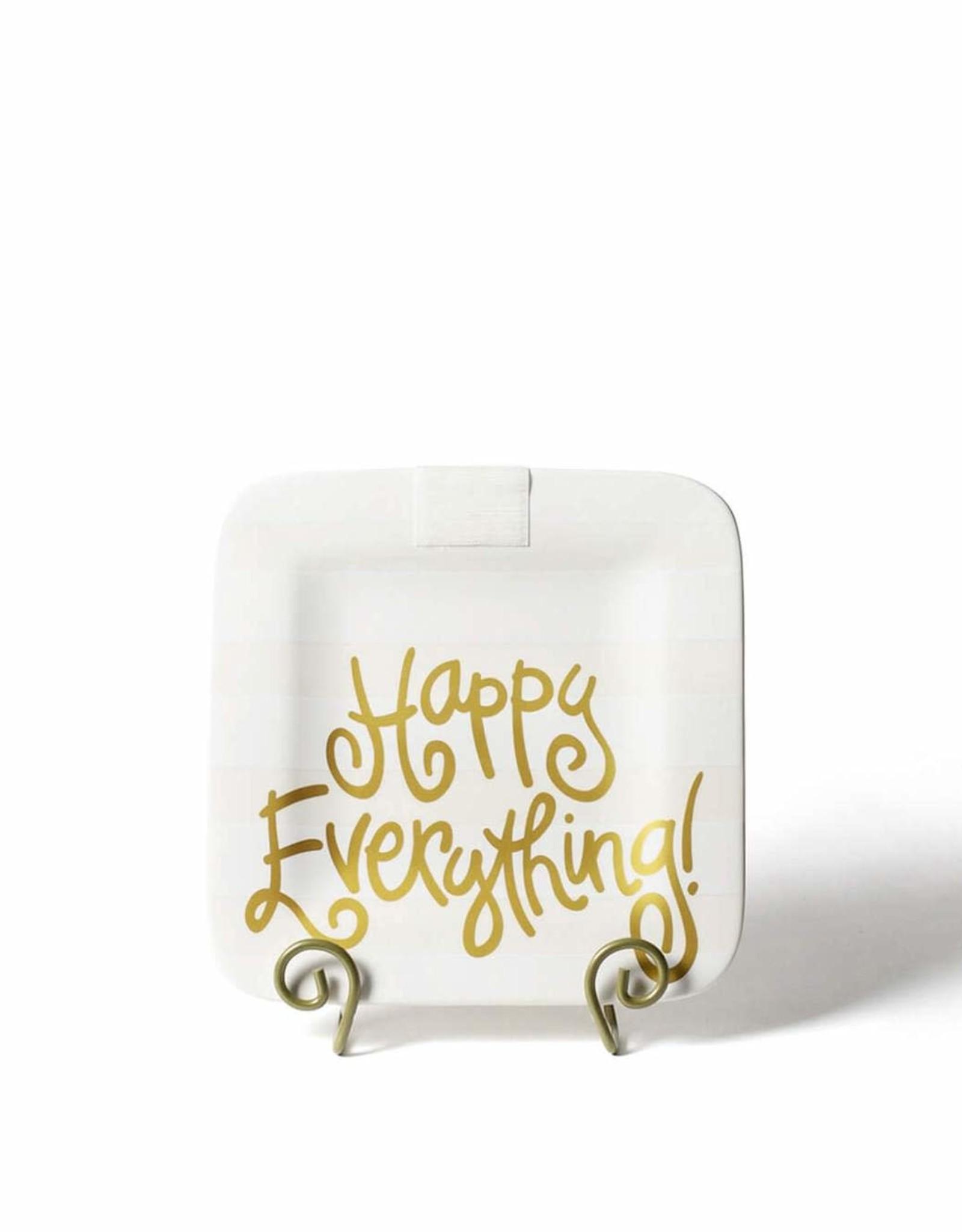 Coton Colors Happy Everything Mini Platter - White Stripe