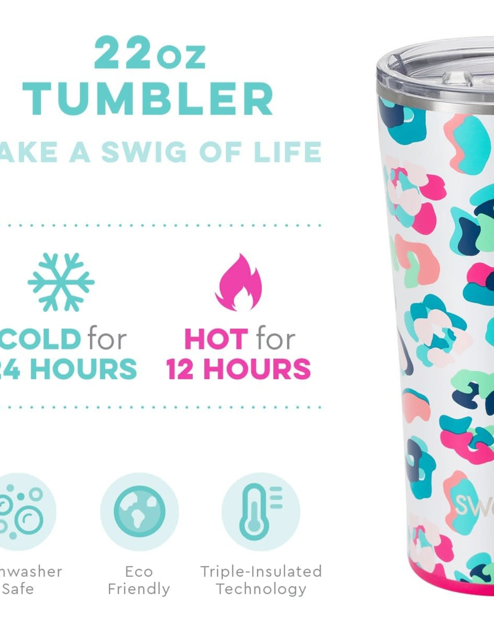 Swig Tumbler - 22oz - Party Animal