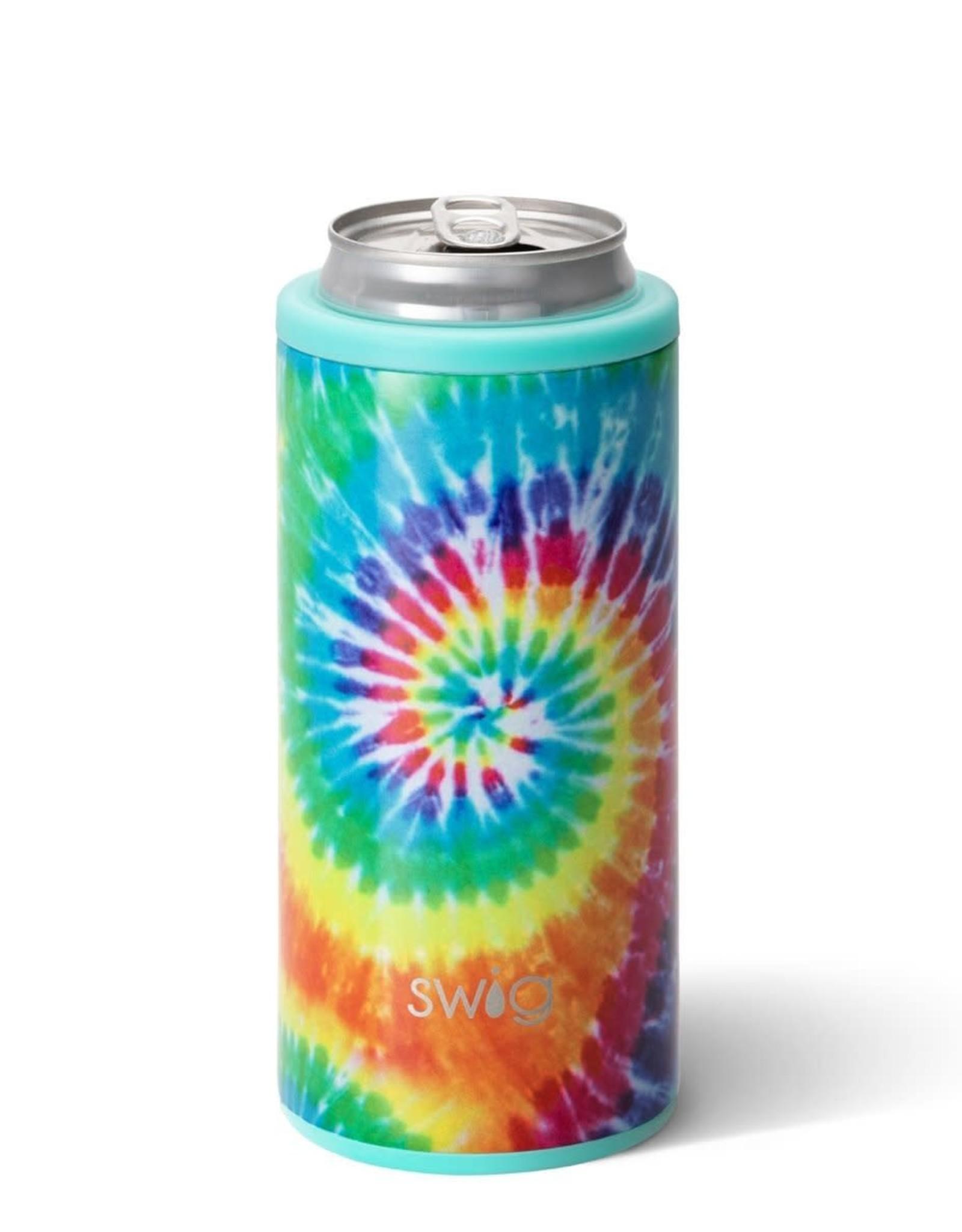 Swig Can Cooler - 12oz - Swirled Peace