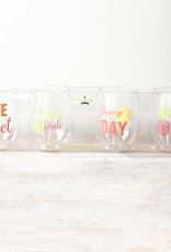 Tutti Fruiti Wine Glasses - Set of 4