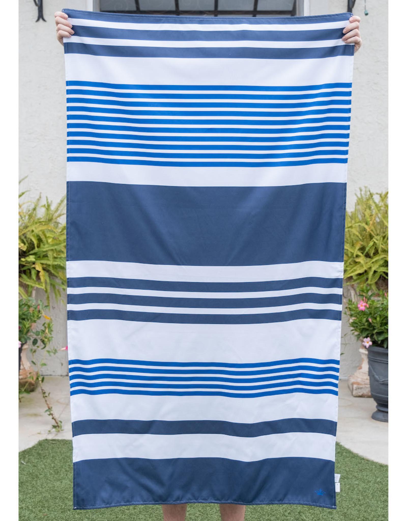 Microfiber Beach Towel - Blues