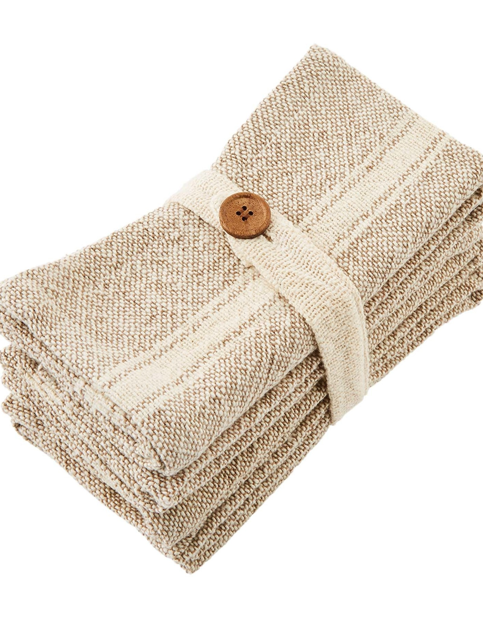 Woven Napkins  - Taupe - Set of 4
