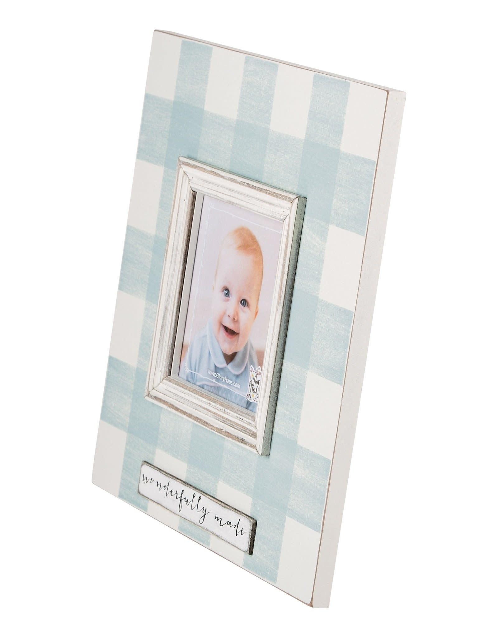 Wonderfully Made Frame - Blue