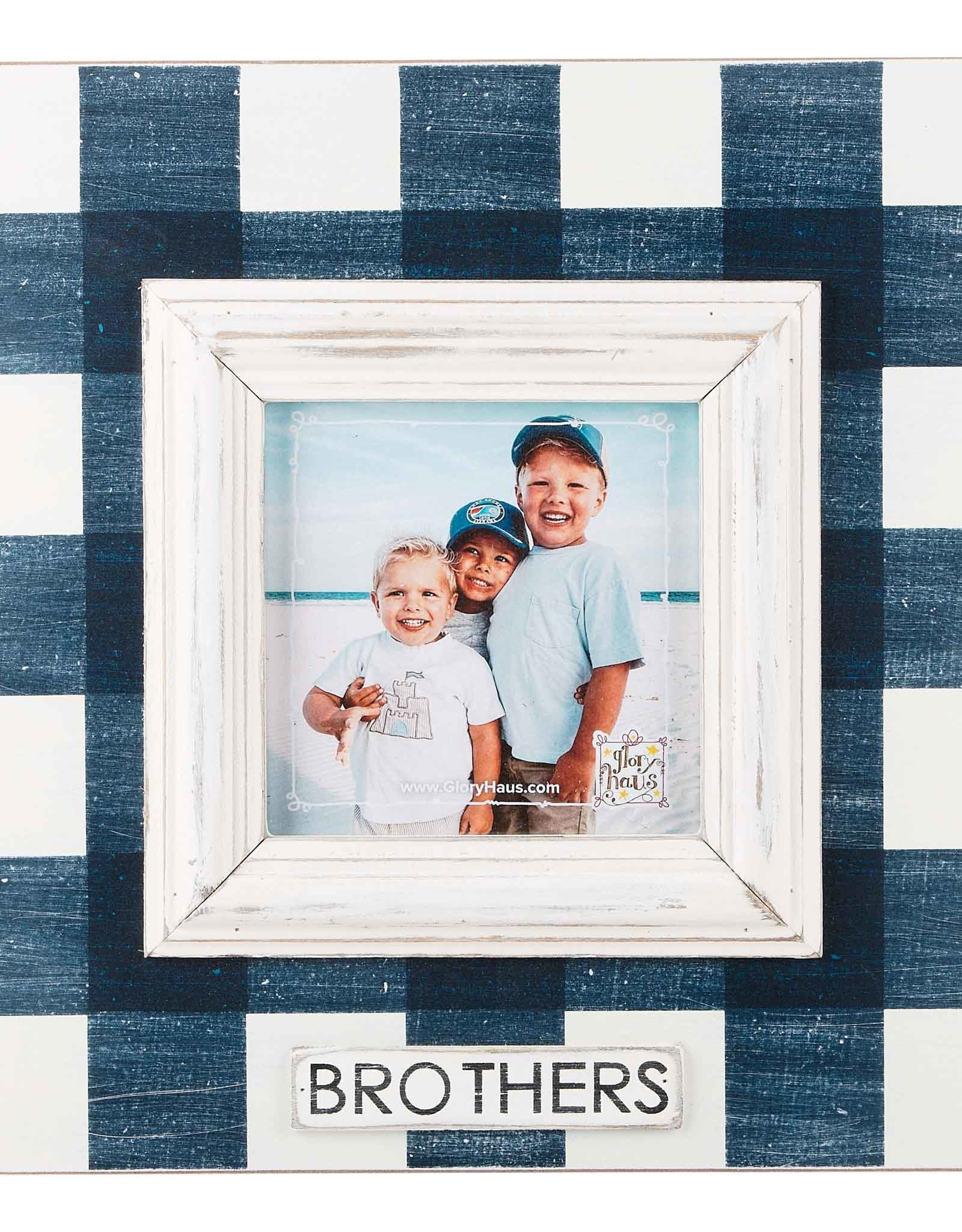 Brothers Frame - Plaid
