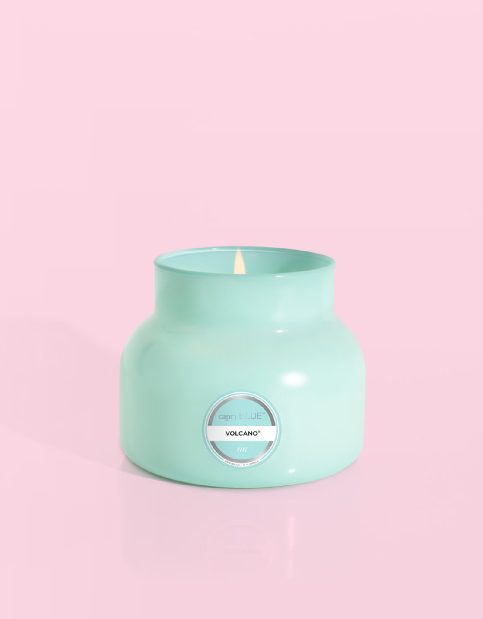 Capri Blue Petite Volcano Candle - 8oz in Teal