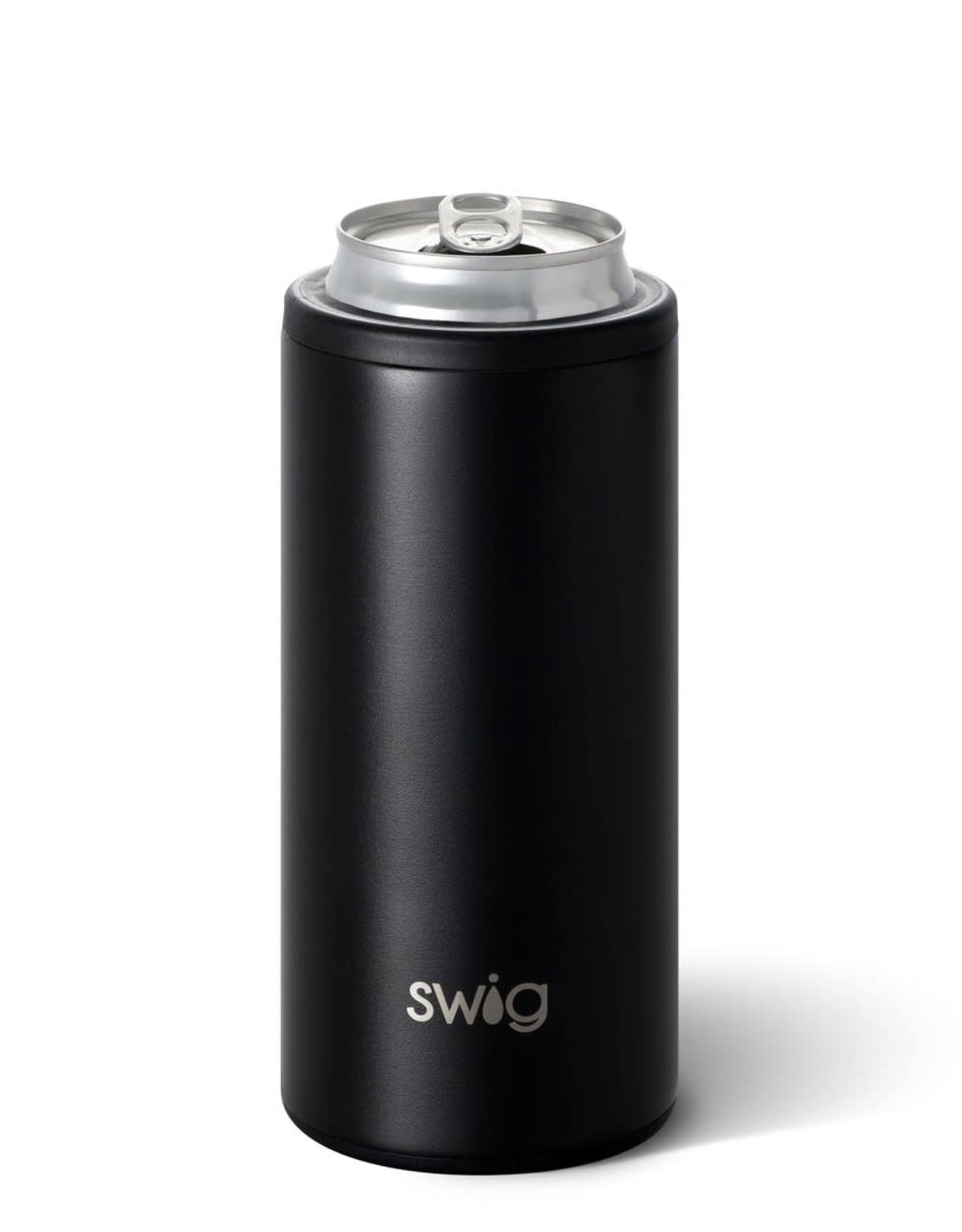 Swig Can Cooler - 12oz - Matte Black