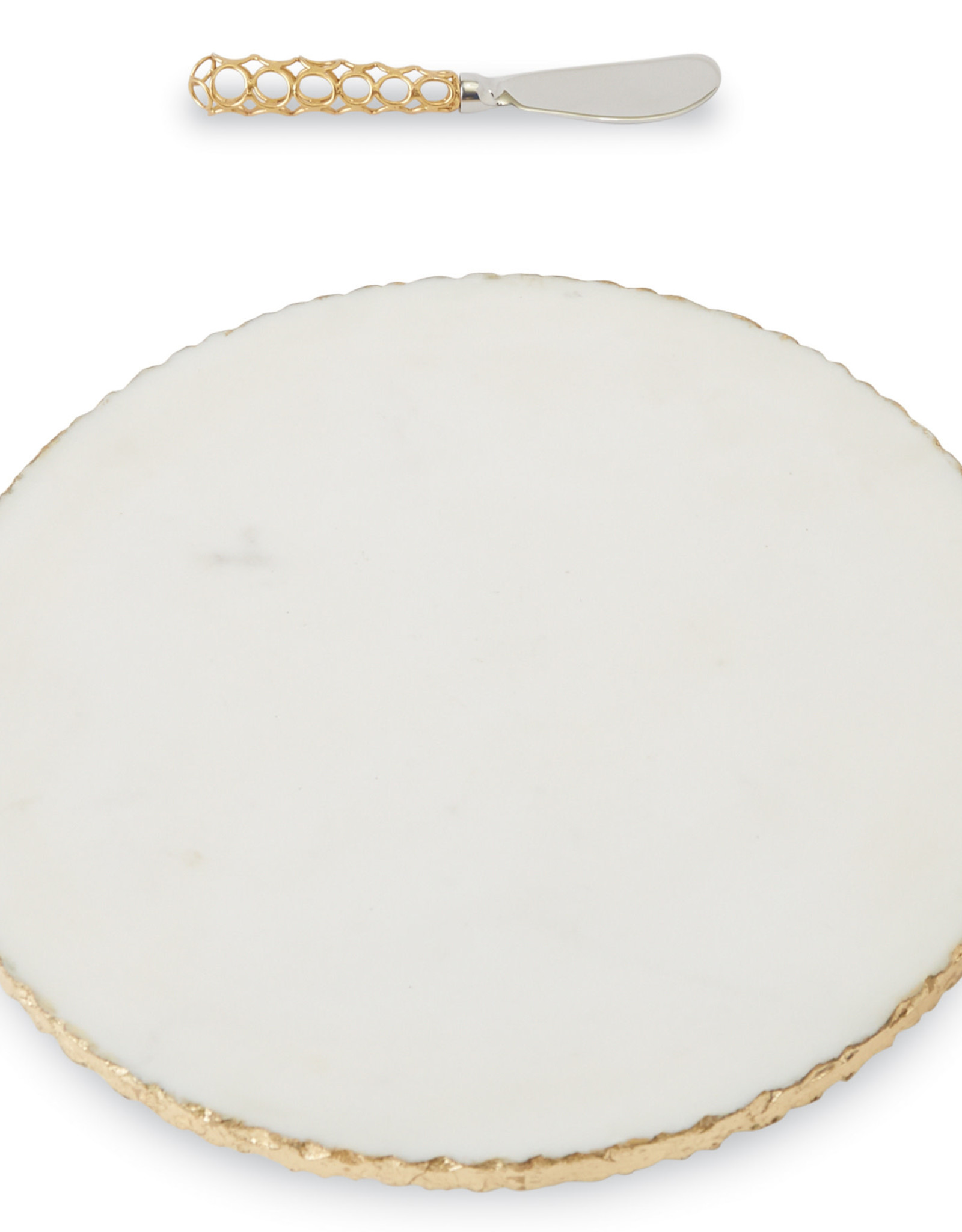 Marble Cheese Board with Spreader