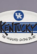 Kentucky Wildcats Melamine Oval Tray