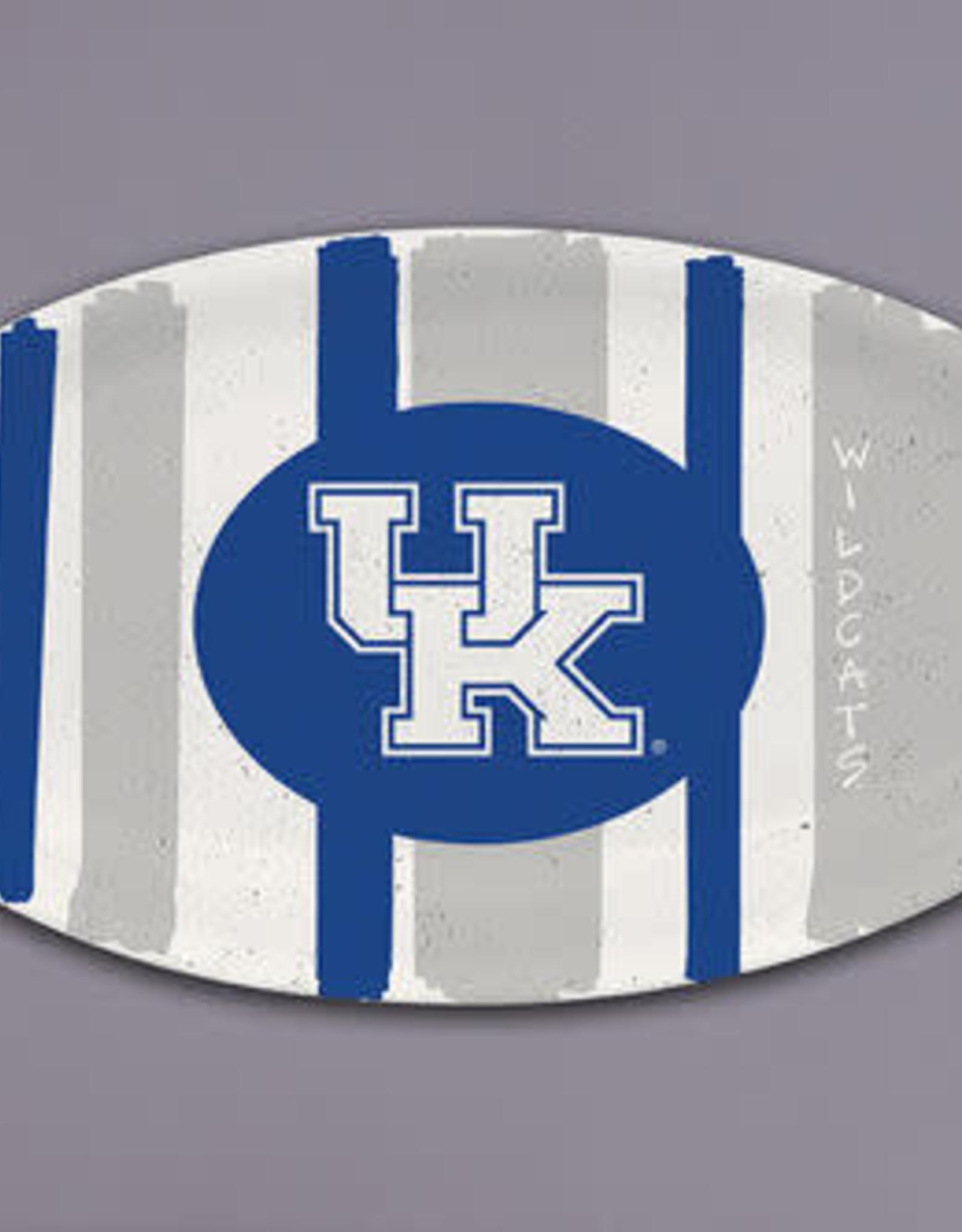Kentucky Wildcats Melamine Striped Tray