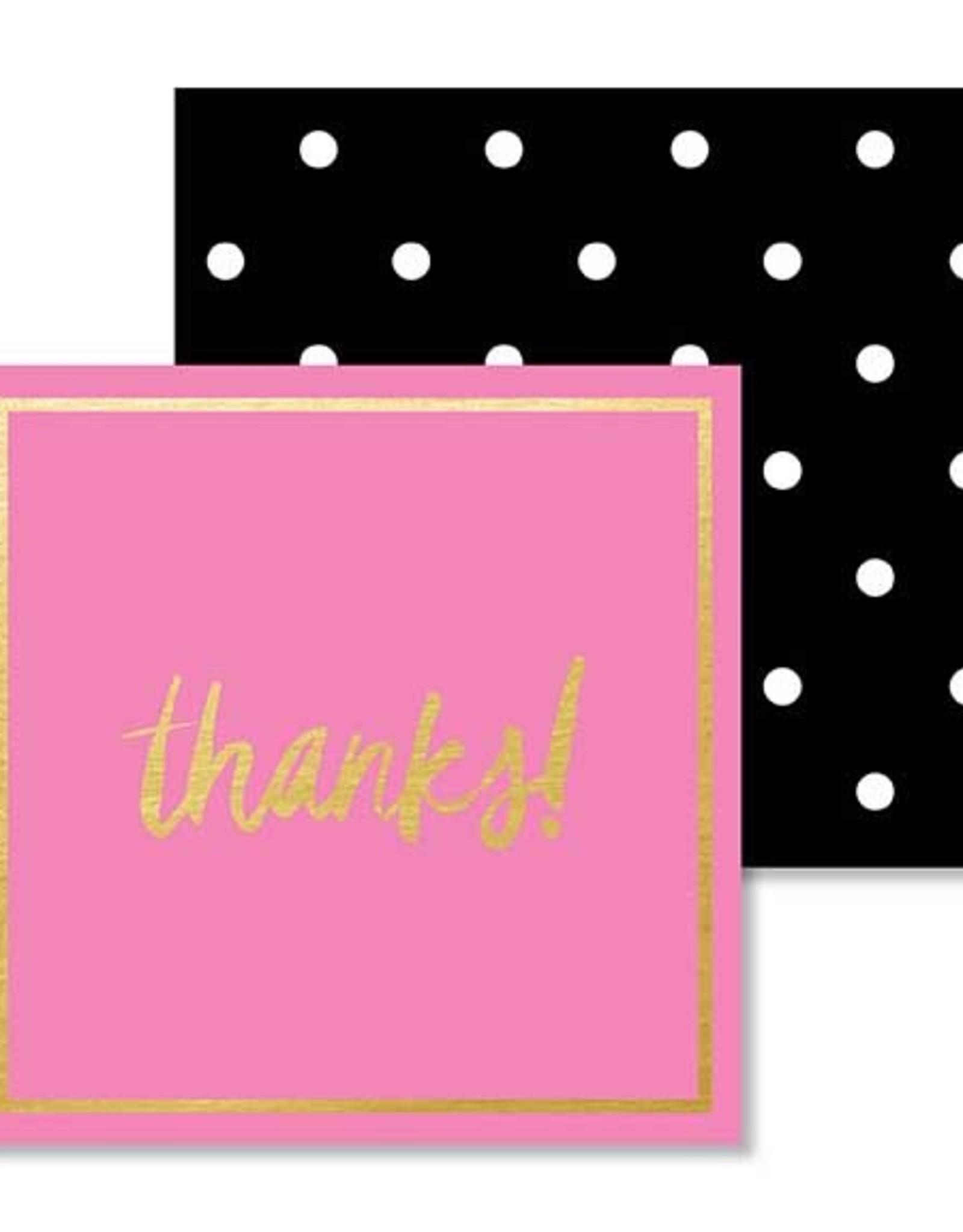Mini Enclosure Card - Thanks