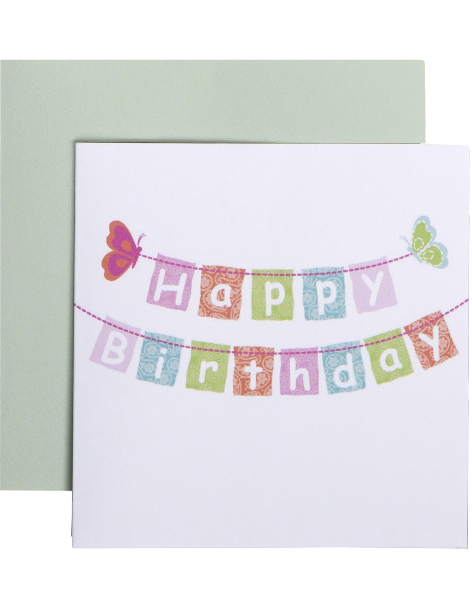 Mini Enclosure Card - Happy Birthday