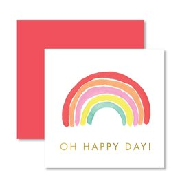 Mini Enclosure Card - Oh Happy Day