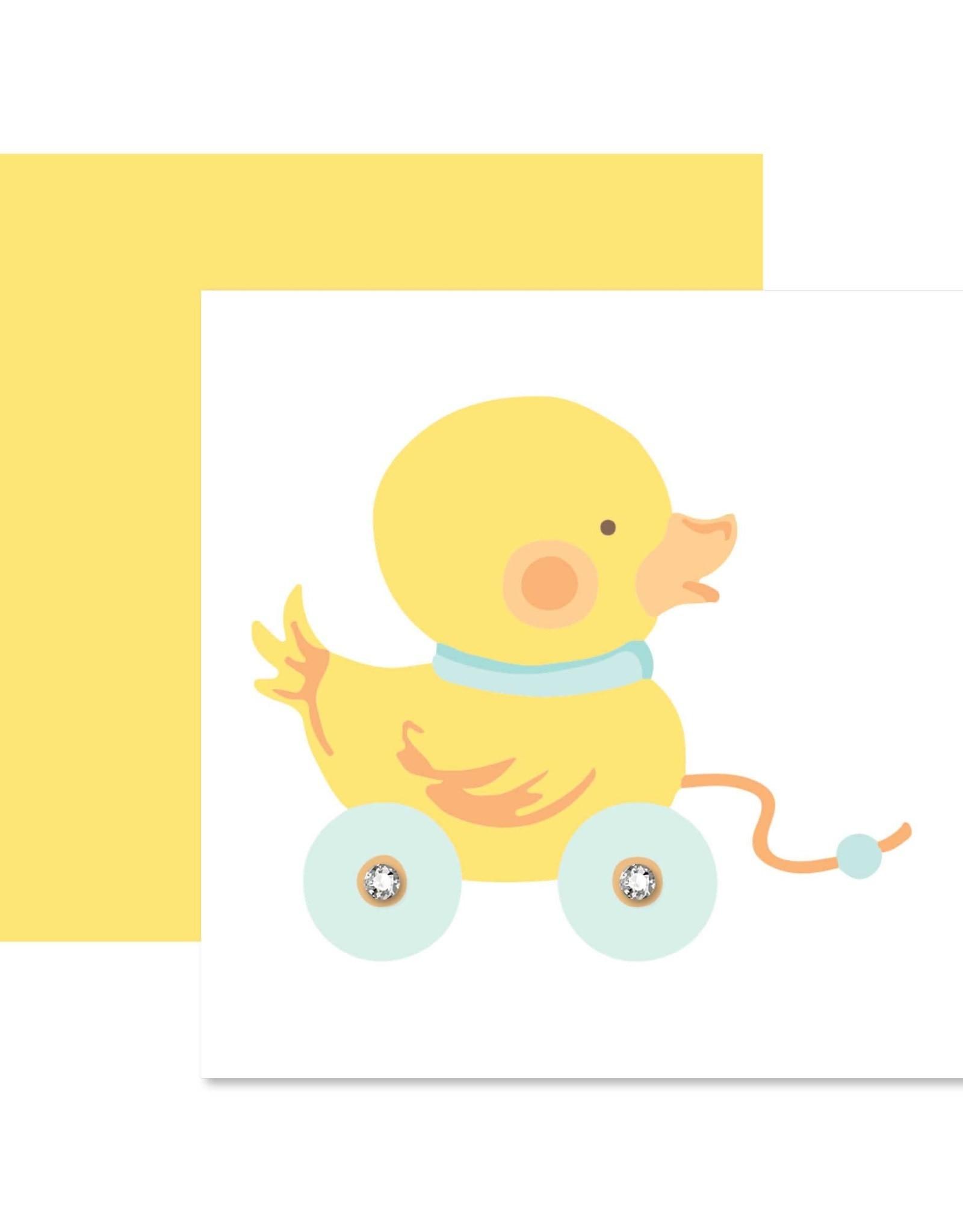 Mini Enclosure Card - Baby Duck