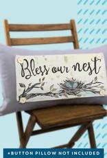 Luckybird Pillow Swap - Bless our Nest