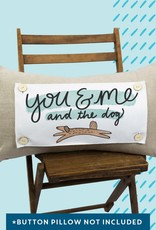 Luckybird Pillow Swap - You & Me and the Dog