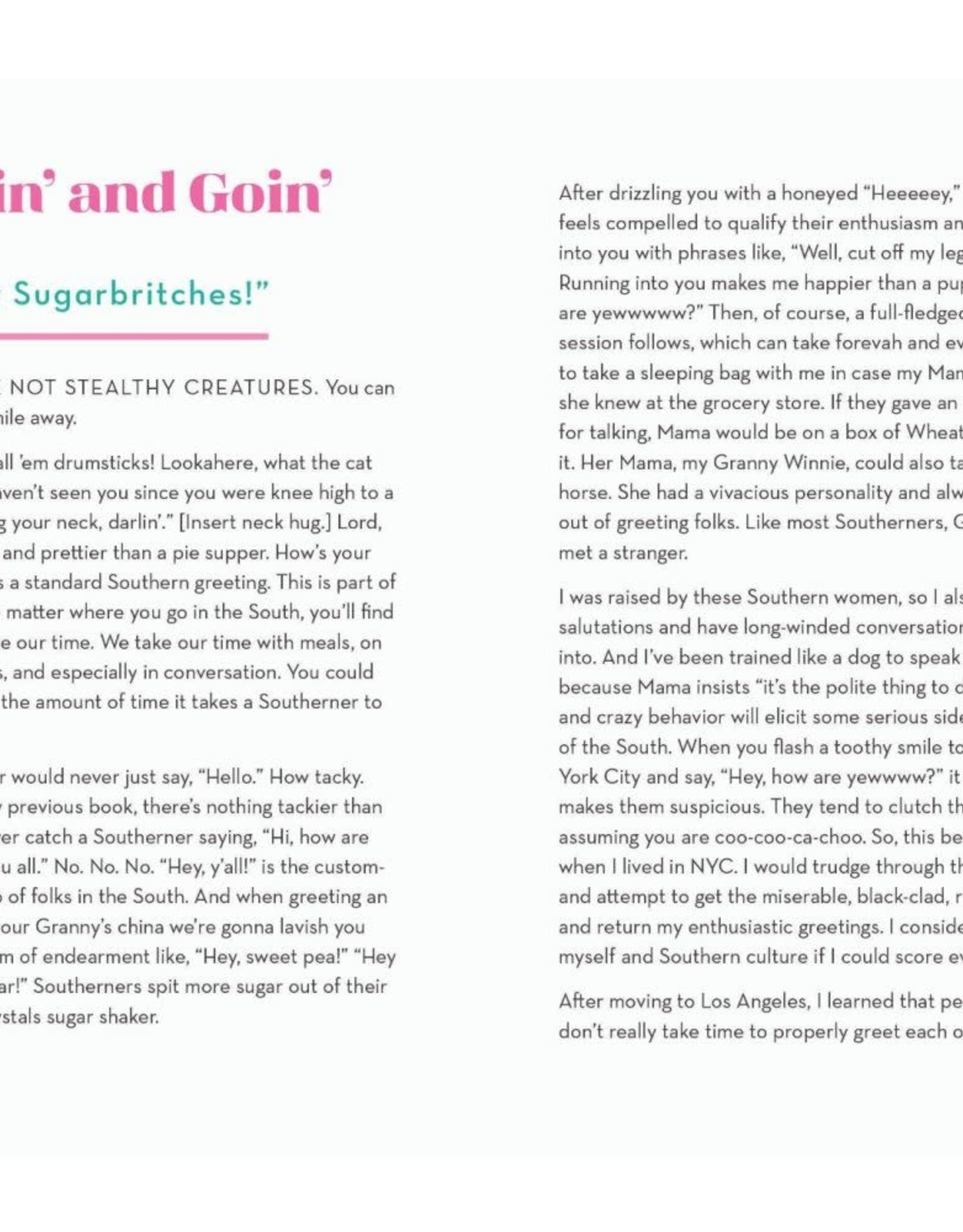 Book - Embrace Your Southern, Sugar!
