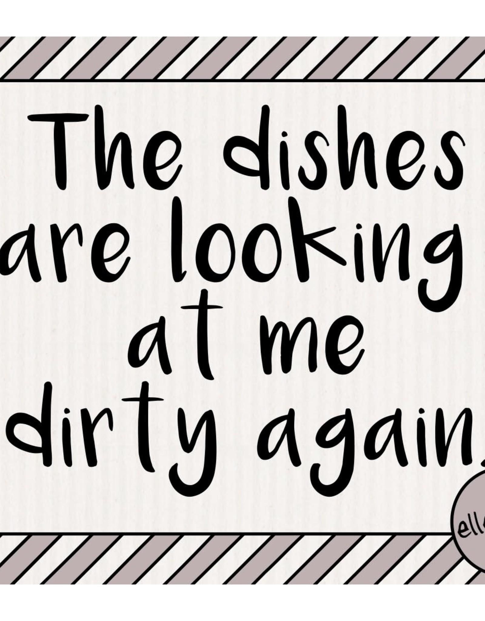 Swedish Dishcloth - Dirty Dishes
