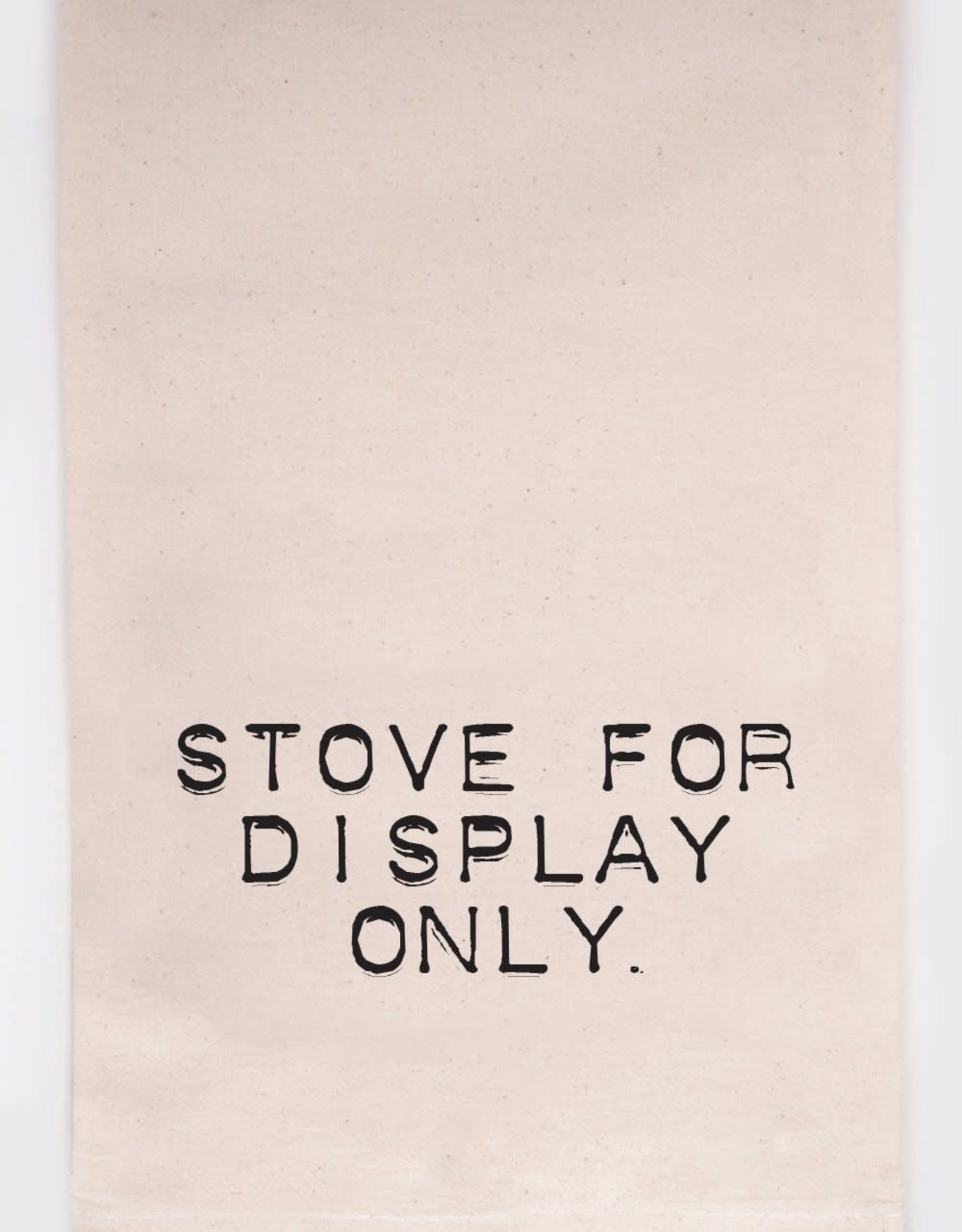 Kitchen Towel - Stove for Display