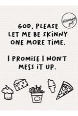 Swedish Dishcloth - Let Me Be Skinny