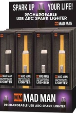 Rechargable USB Spark Lighter - Black