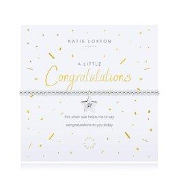 Katie Loxton Bracelet - Congratulations