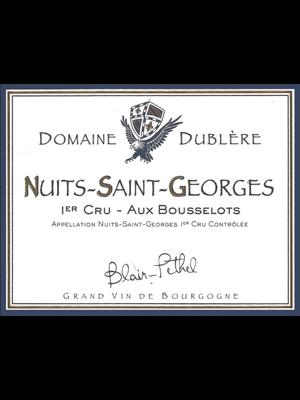 2015 Domaine Dublere NSG 1er Aux Bousselots 750ml