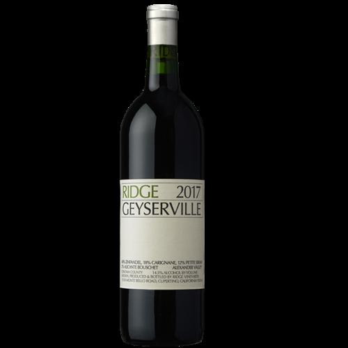 2017 Ridge Geyserville Zinfandel 750 ml