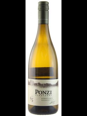2015 Ponzi Pinot Gris 750ml