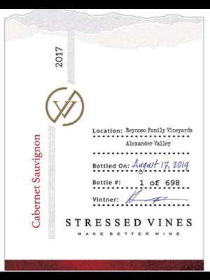 2017 Stressed Vines Cabernet Sauvignon 750ml