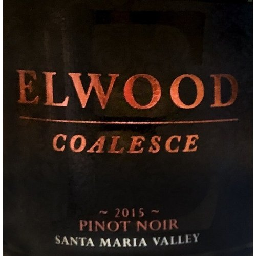 2014 Elwood Pinot Noir Coalesce 750ml