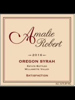 2014 Amalie Robert Satisfaction Syrah Willamette Valley 750ml