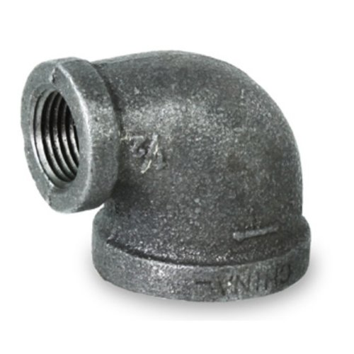 3/4 x 1/2 REDUCING ELBOW BLACK MALLEABLE